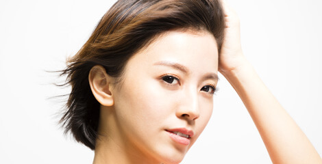 女性の発毛方法