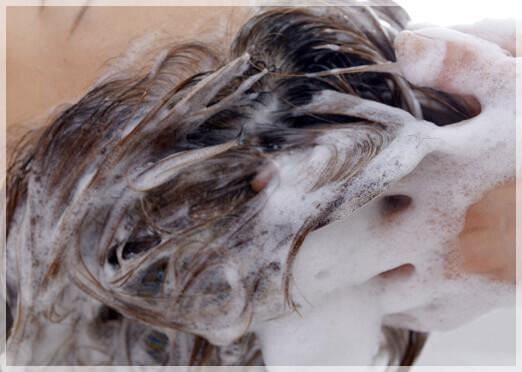 毎日の発毛にシャンプーのスカルプケア